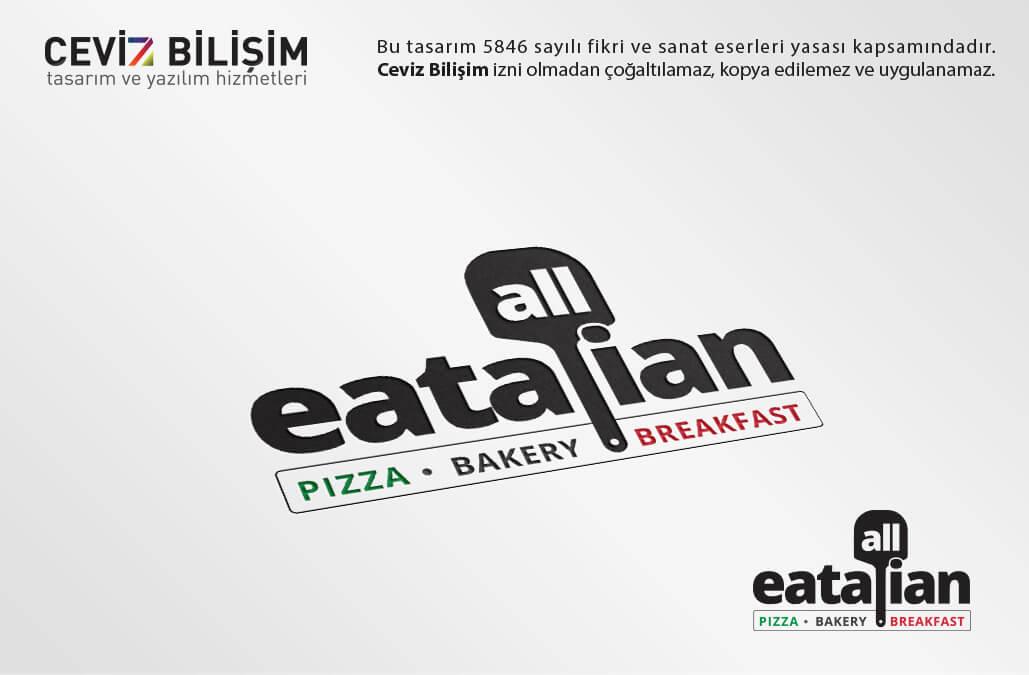 ALL EATALIAN Logo Tasarımı