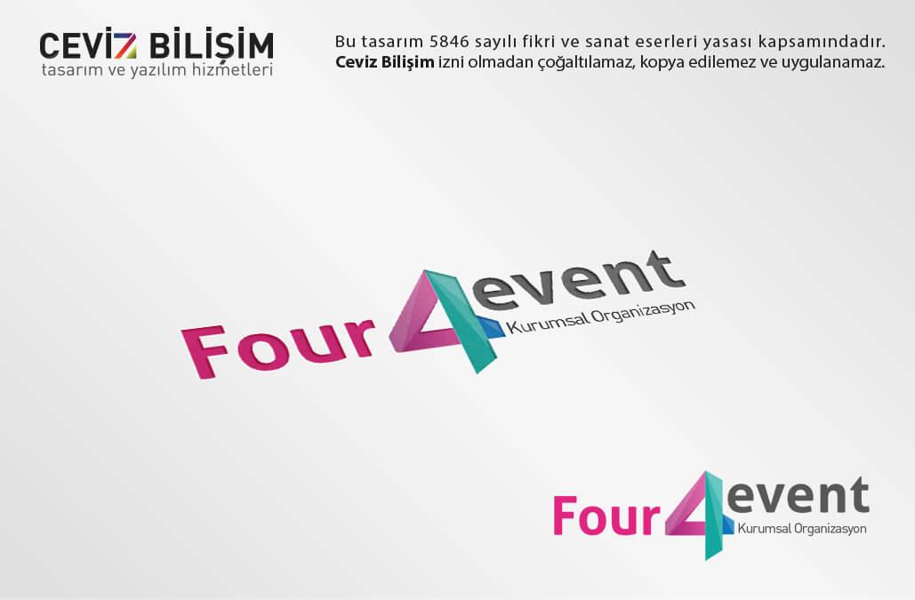 Four 4 Event Logo Tasarımı