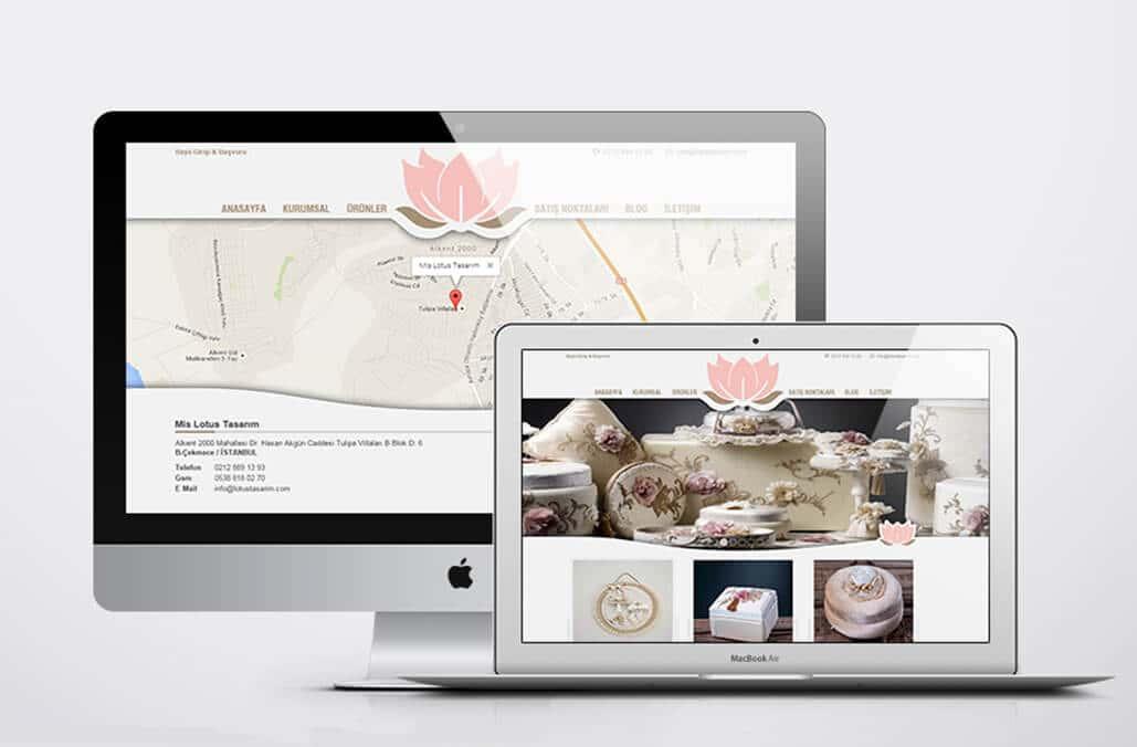 Mis Lotus Web Tasarımı