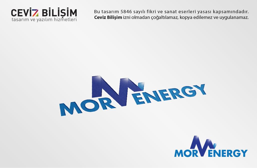 Mor Energy Logo Tasarımı