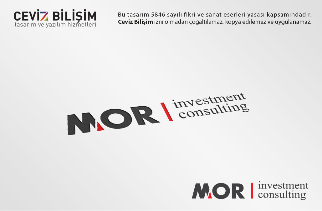 MOR Investment Consulting Logo Tasarımı