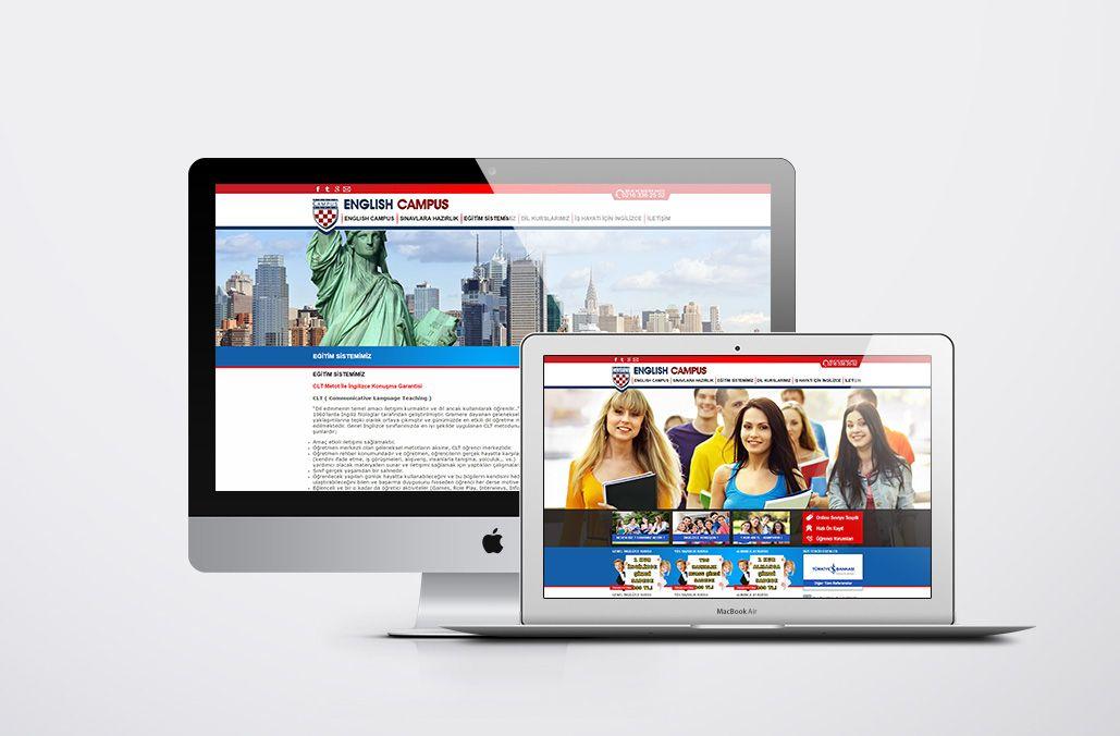 English Campus Web Tasarım