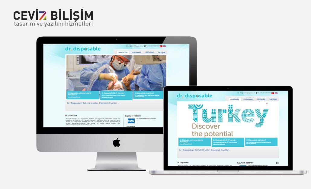DR Disposable Web Tasarımı