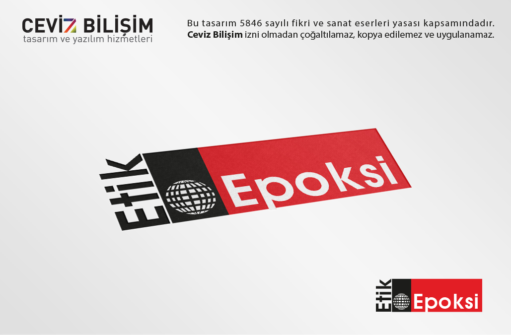 Etik Epoksi Logo Tasarımı