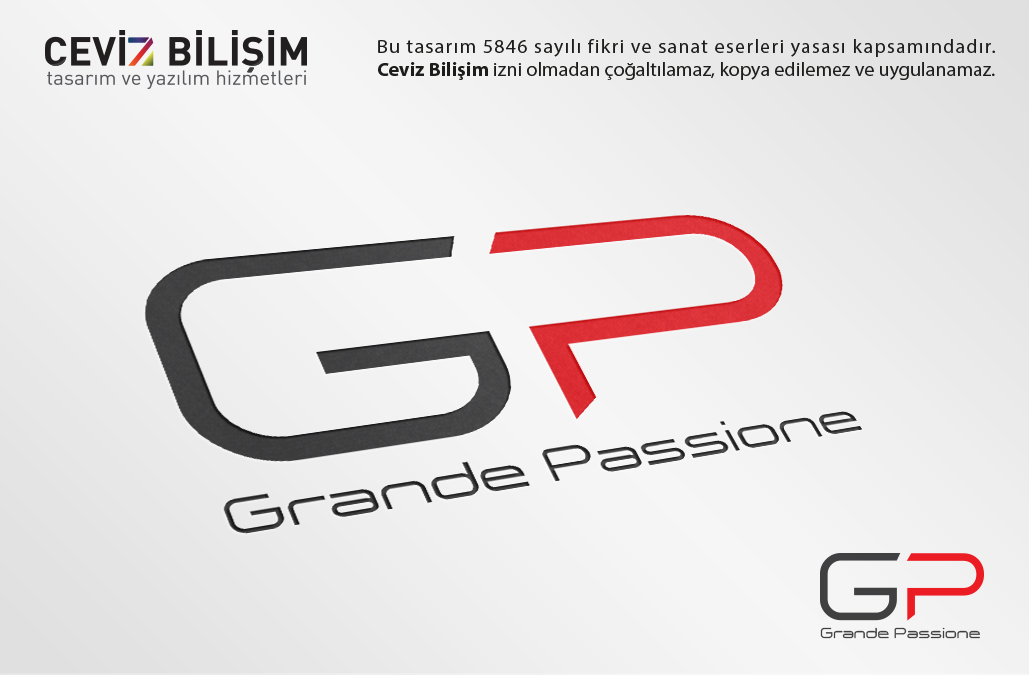 Grande Passione Logo Tasarımı