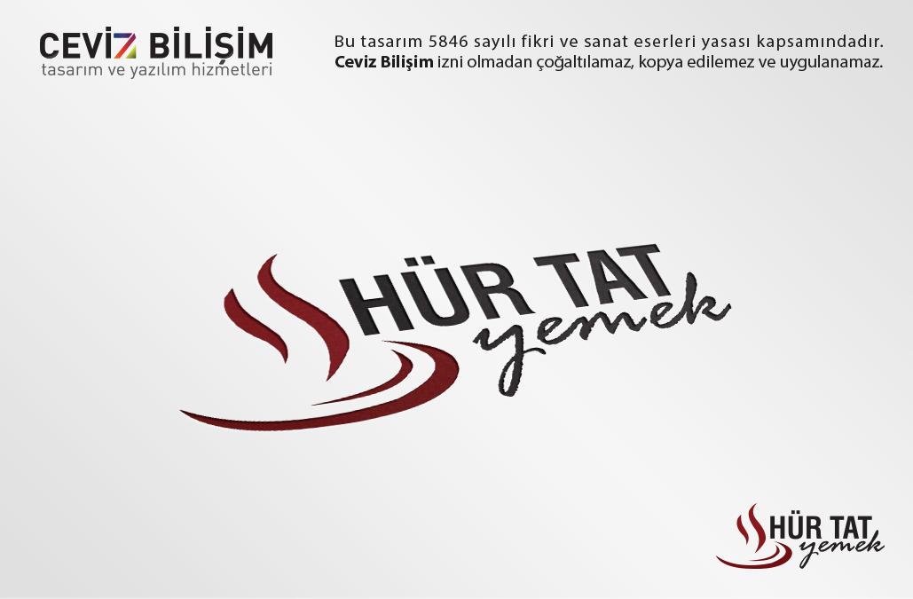HÜR TAT Logo Tasarımı