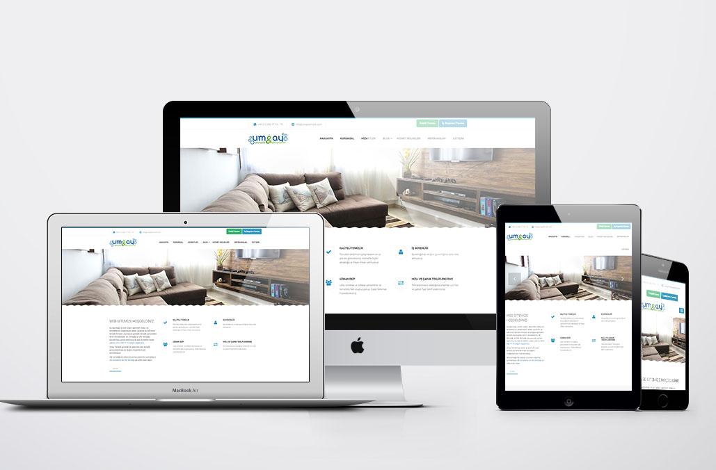 UM&AY Temizlik Web Yazılımı