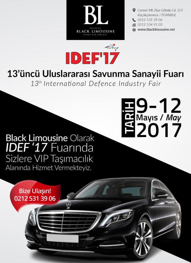 Black Limousine IDEF Afiş Çalışması