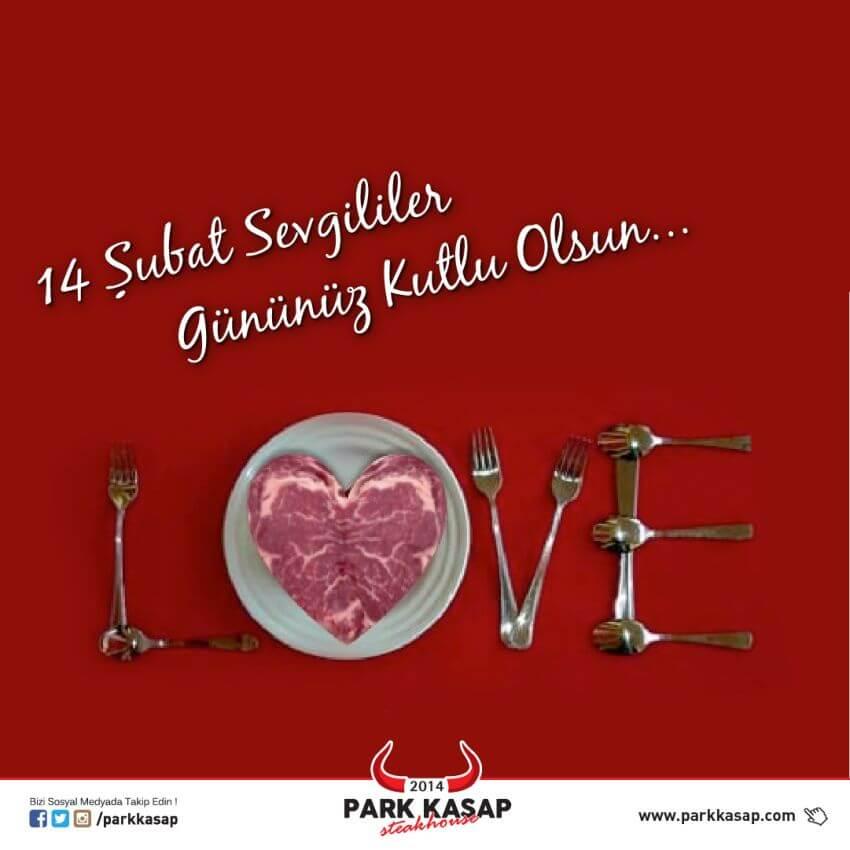 Park Kasap Sosyal Medya - 14 Şubat Sevgililer Günü