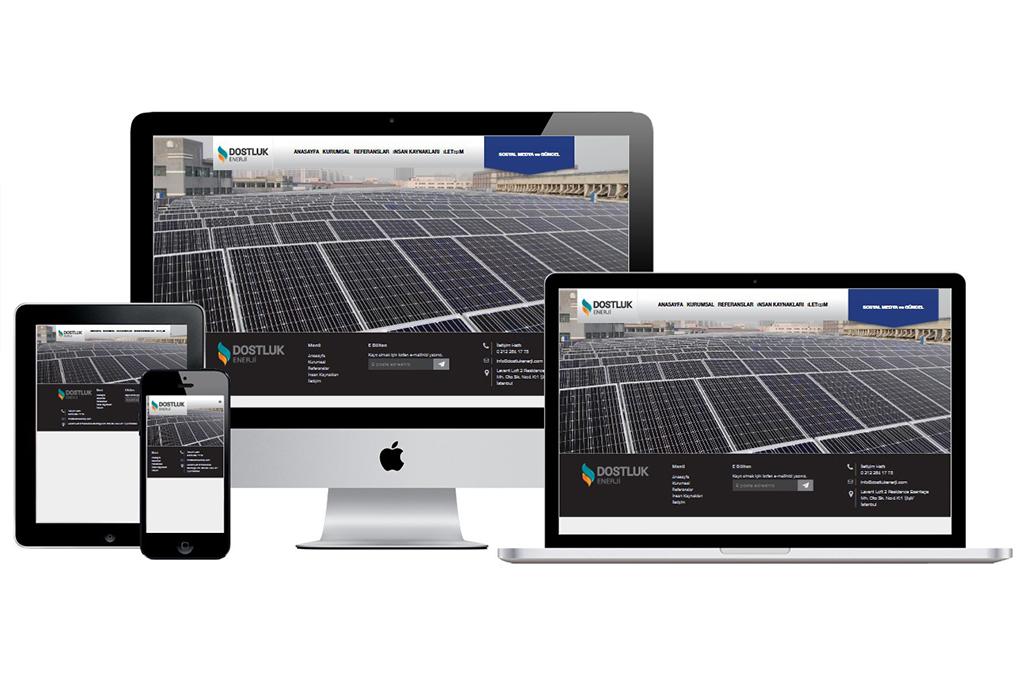 Dostluk Enerji Kurumsal Web Sitesi