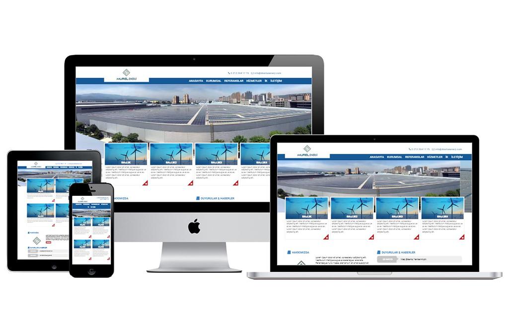 Murel Enerji Kurumsal Web Sitesi