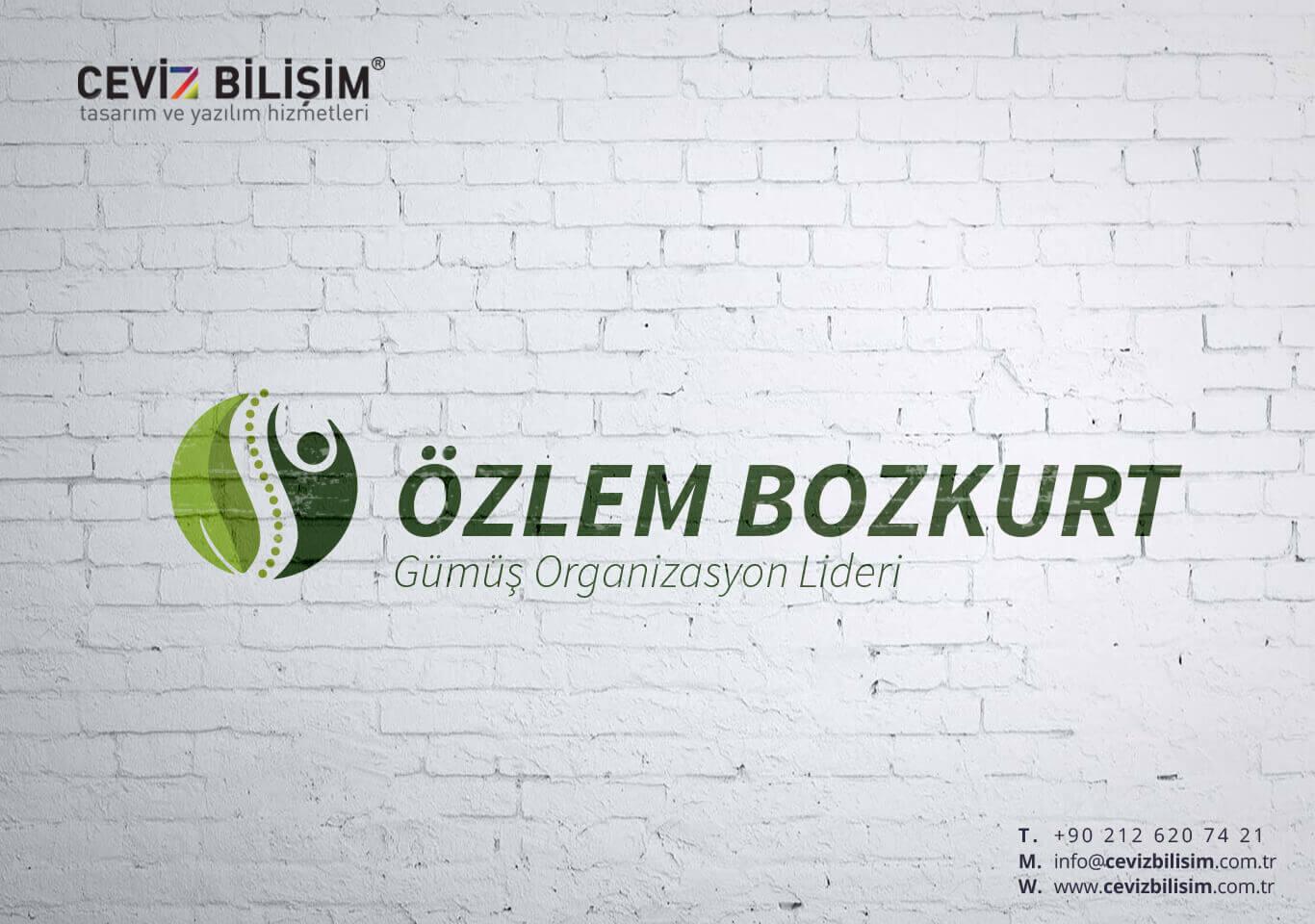Özlem Bozkurt Logo Tasarımı