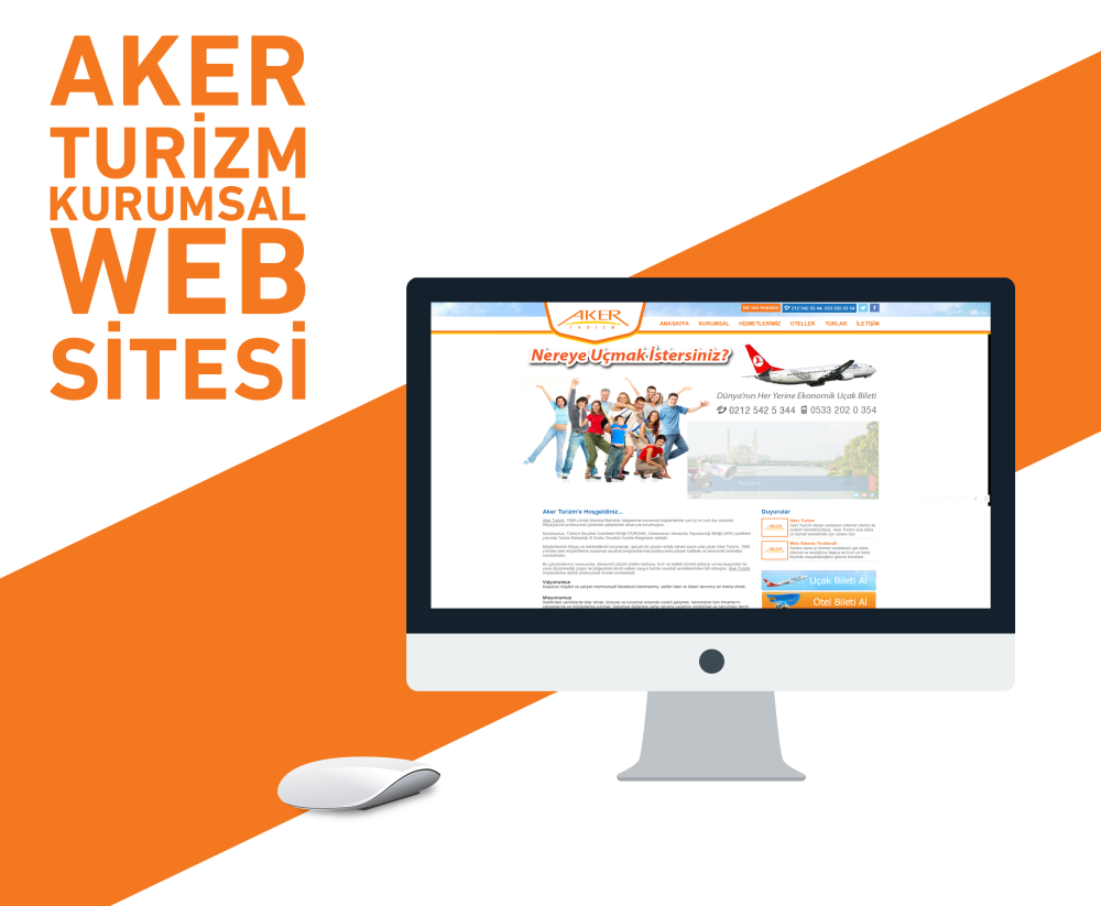 Aker Turizm Web Tasarım