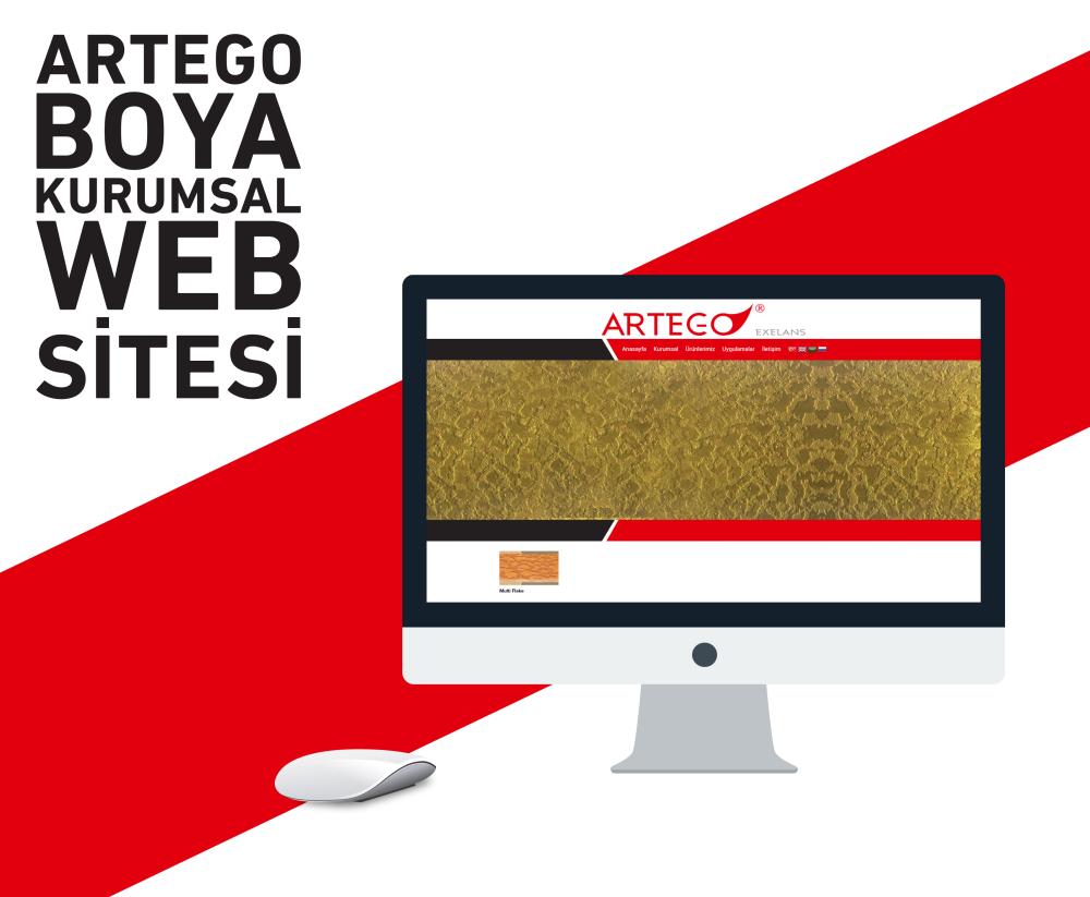 Artego Boya Kurumsal Web Sitesi
