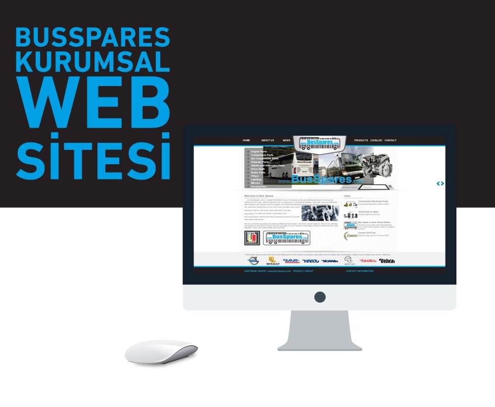 Busspares Web Tasarım