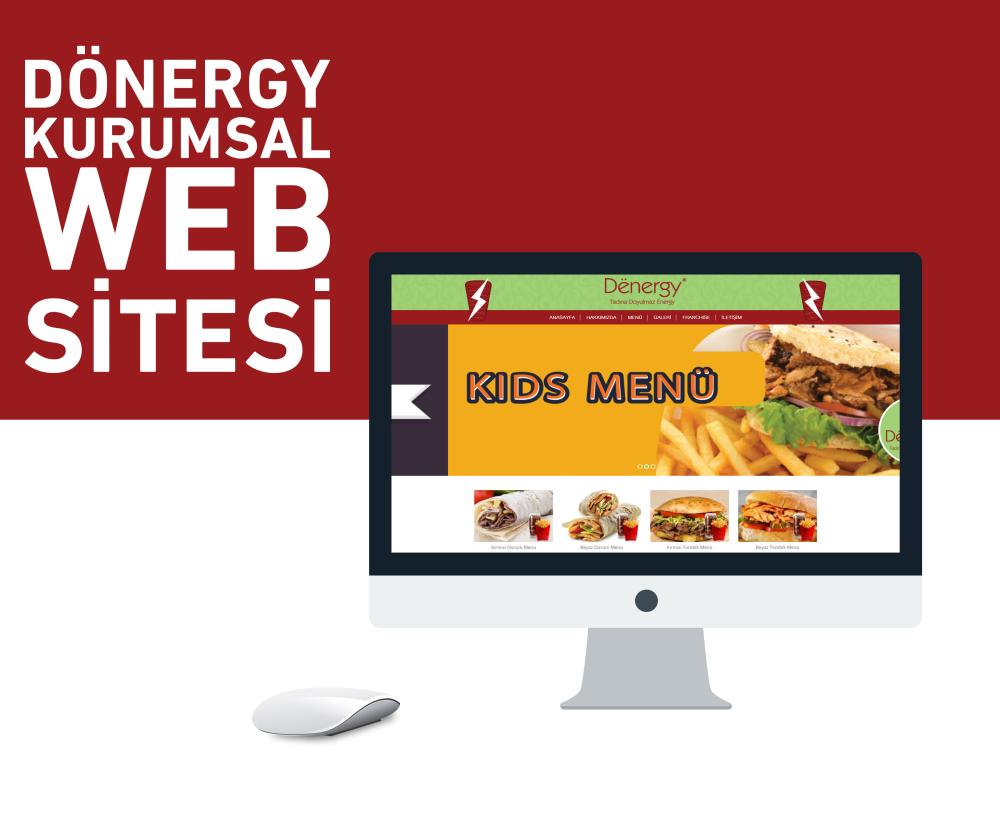 Dönergy Web Kurumsal Sitesi