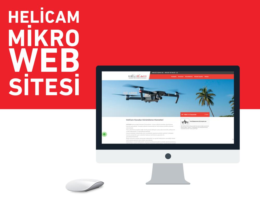 Helicam Web Tasarım