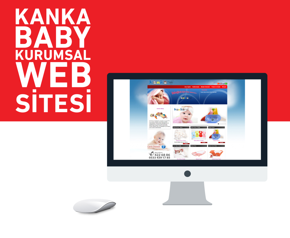 Kanka Baby Web Tasarım