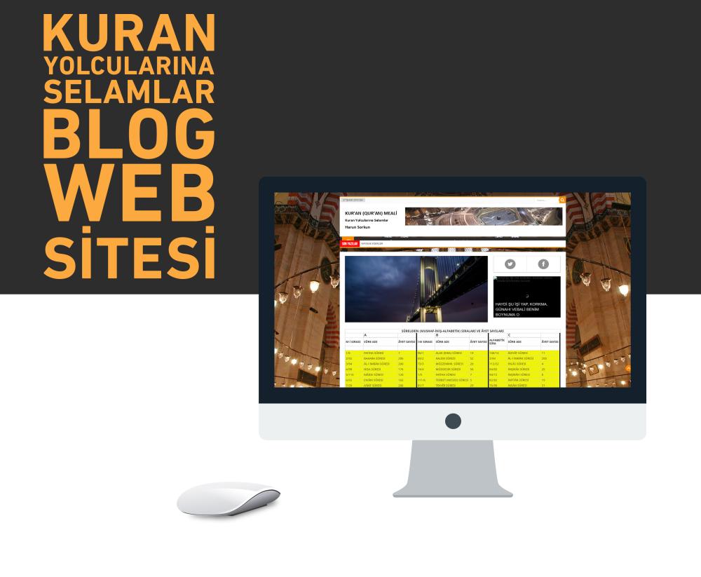 Kuran Yolcuları Web Tasarım