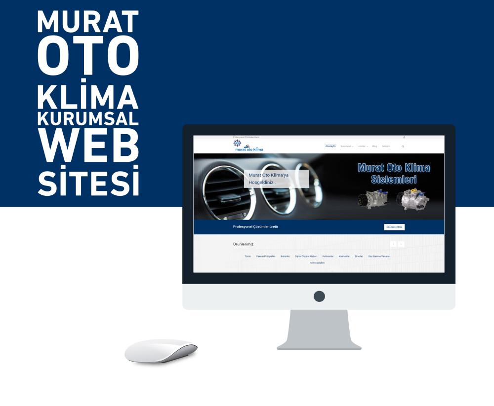 Murat Oto Klima Web Tasarım