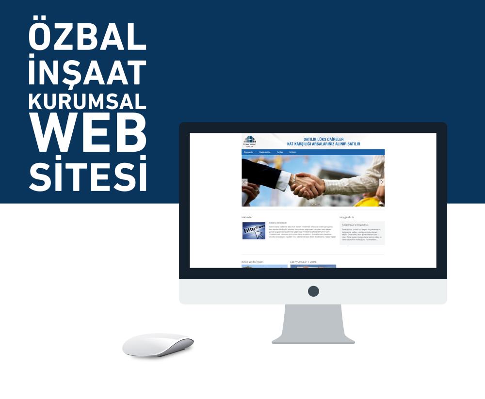 Özbal İnşaat Web Tasarım