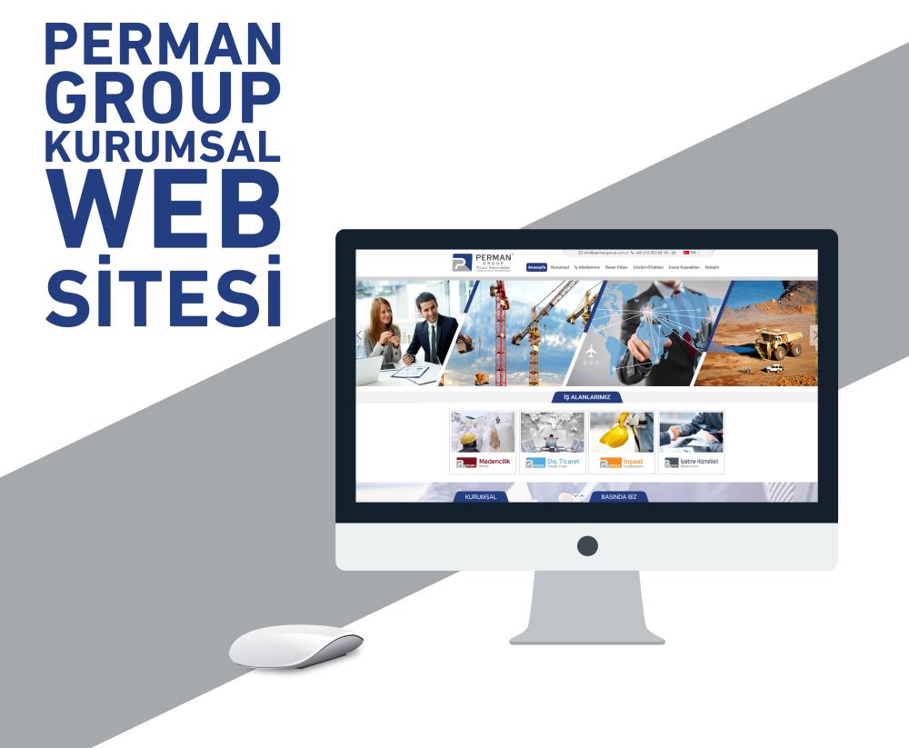 Perman Group Kurumsal Web Sitesi