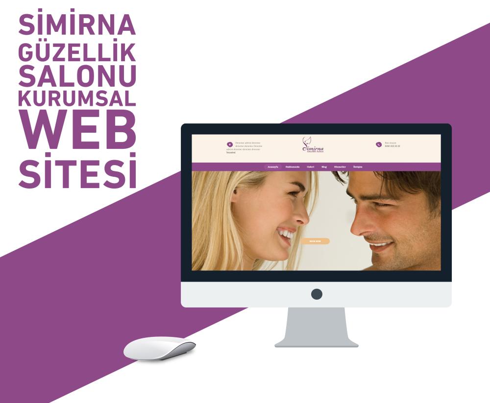 Simirna Güzellik Salonu Web Tasarım