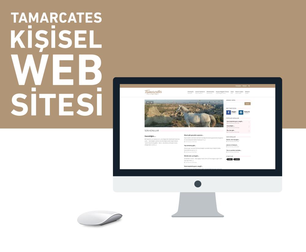 Tamarcates Kişisel Blog Sitesi