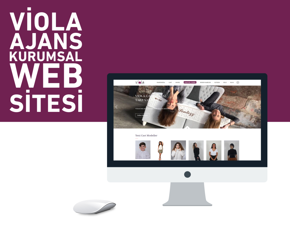 Viola Cast Ajans Web Yazılımı