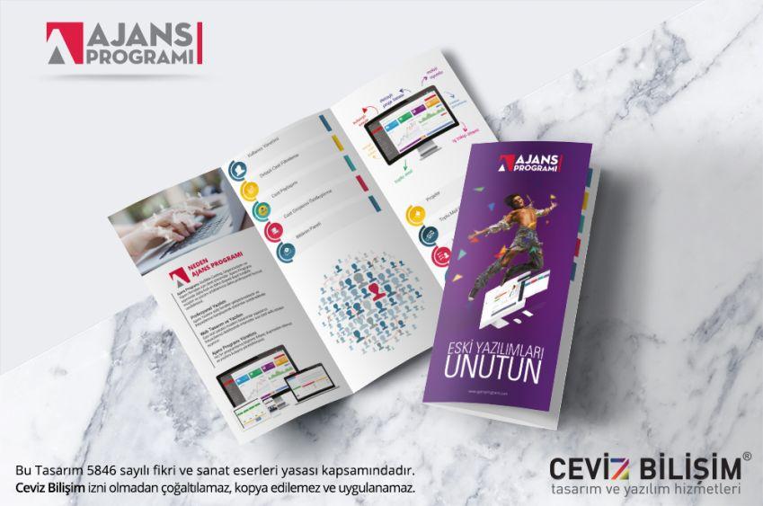 Ajans Programı Broşür Tasarımı