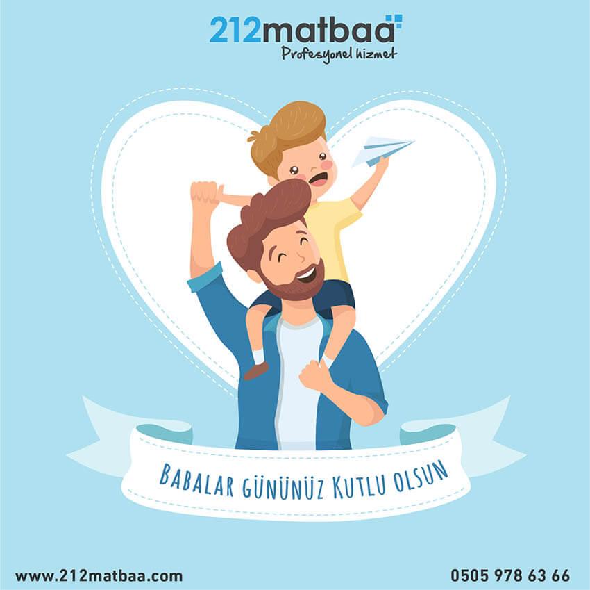 212 Matbaa Babalar Günü Sosyal Medya Paylaşımı