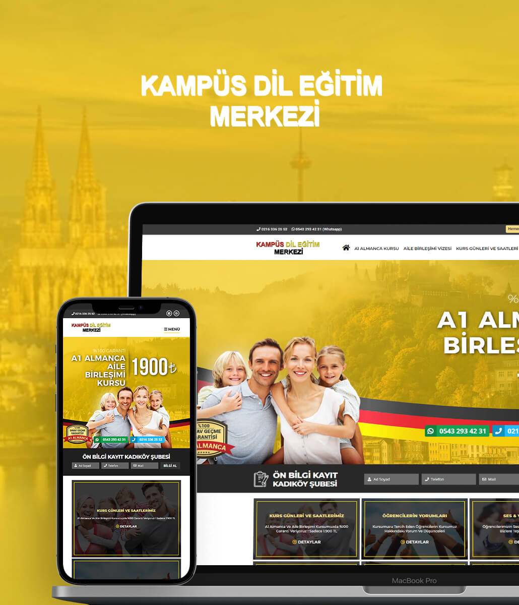 A1 Almanca Web Tasarım