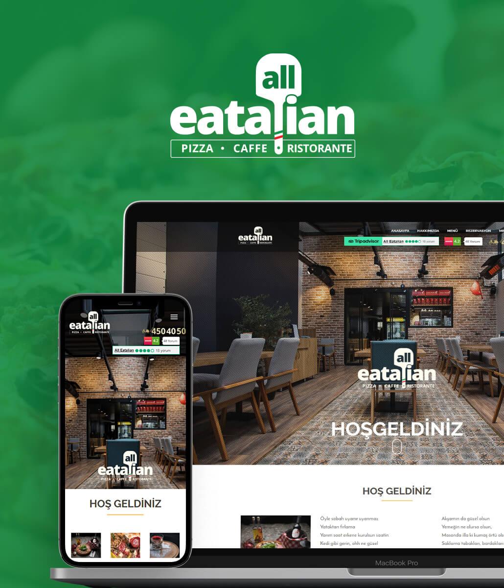 All Eatalian Web Tasarım