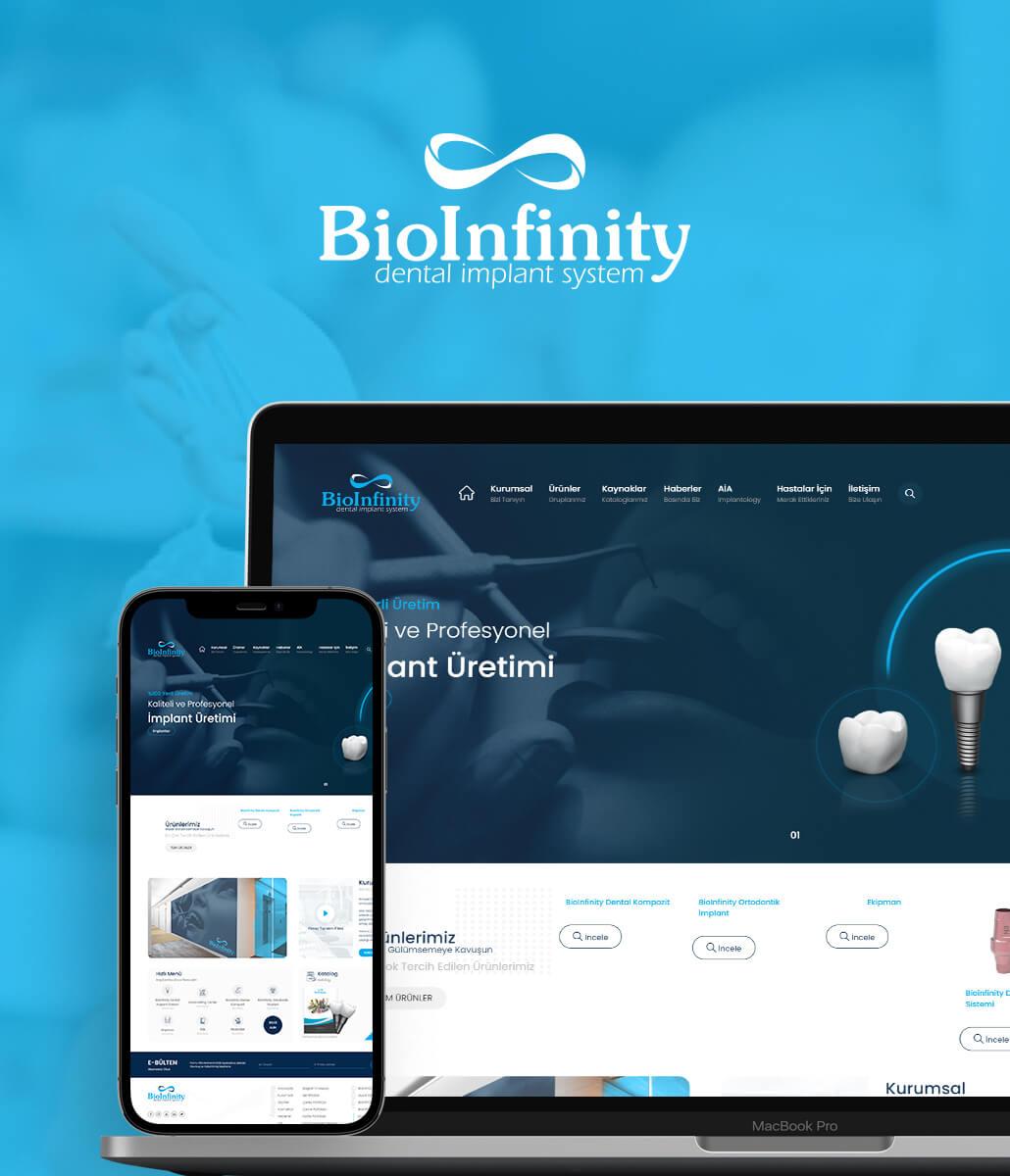 Bioinfinity Implants Kurumsal Web Sitesi