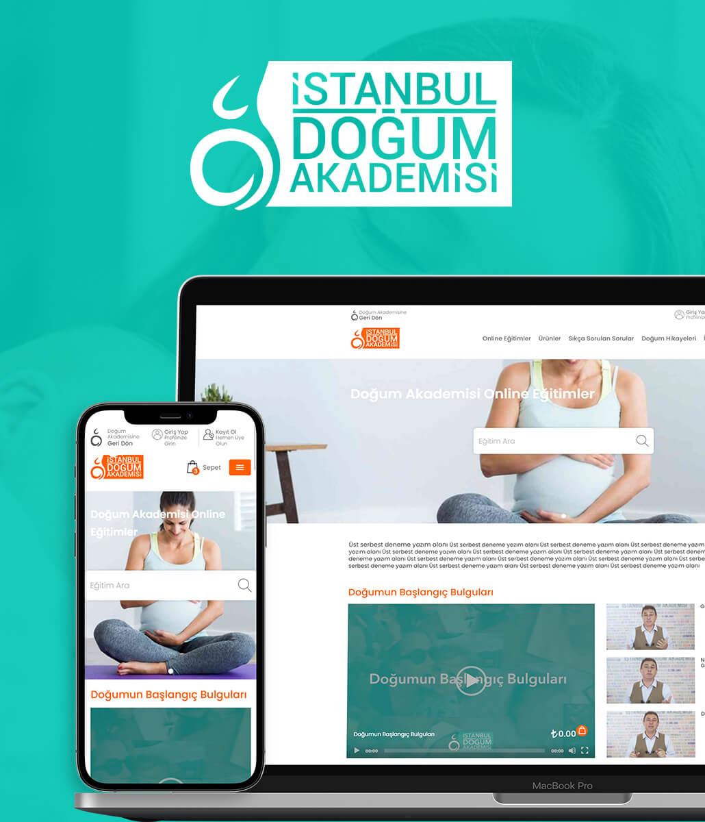 Doğum Akademisi Kurumsal Web Tasarımı