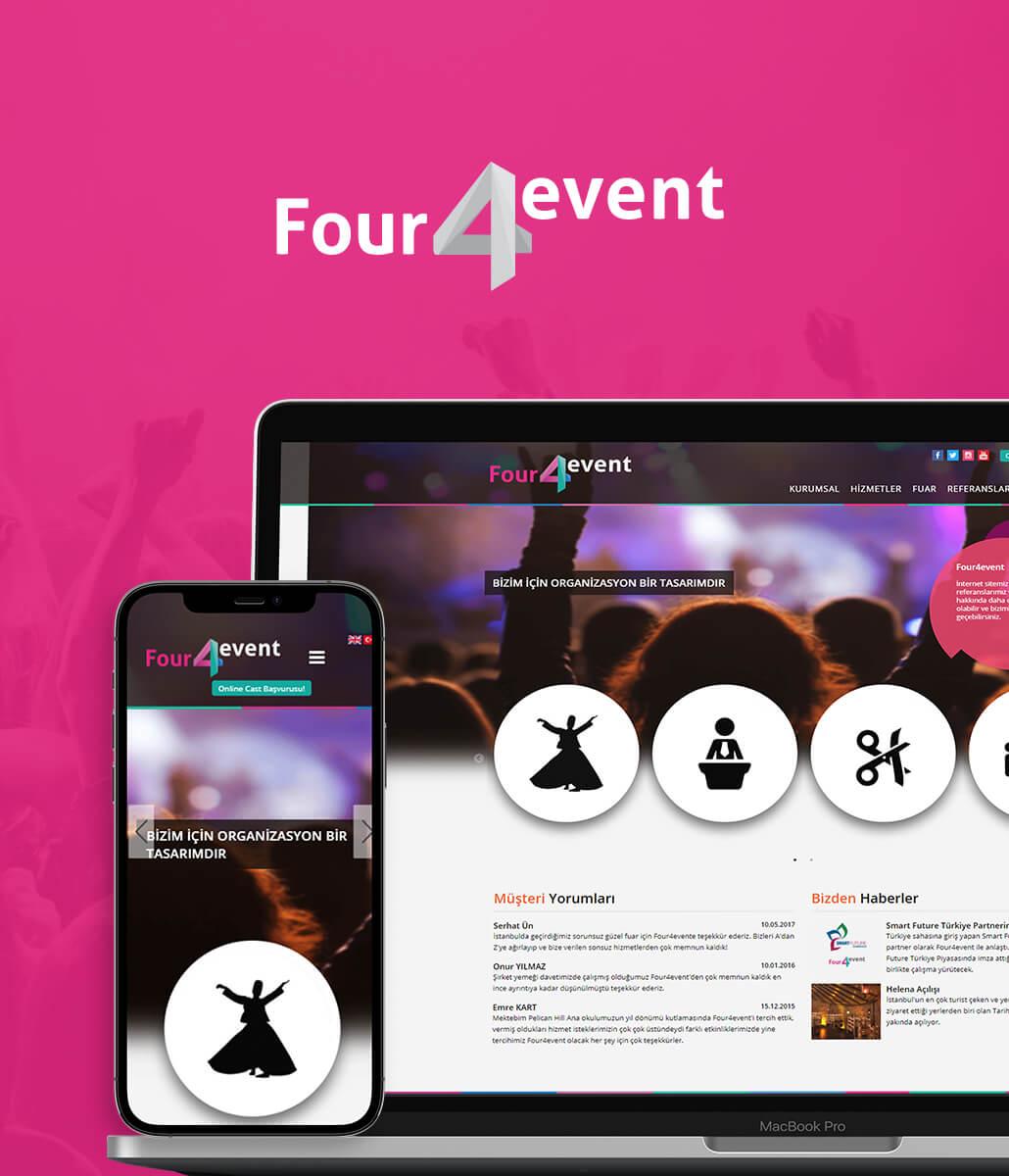 Four 4 Event Web Tasarım ve Yazılım
