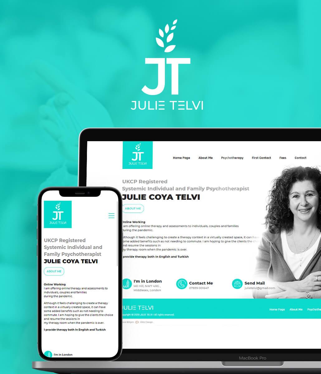 JULIE COYA TELVI WEB TASARIM