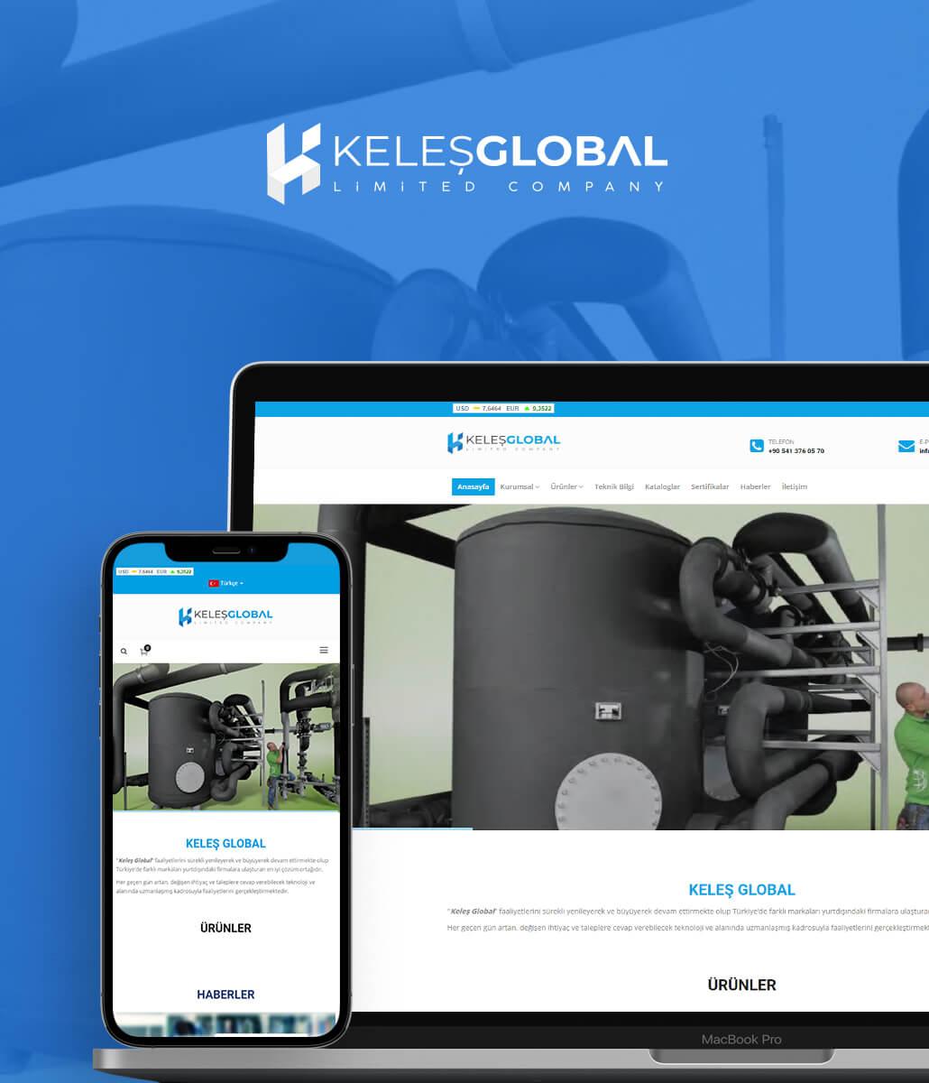 Keleş Global Web Tasarım