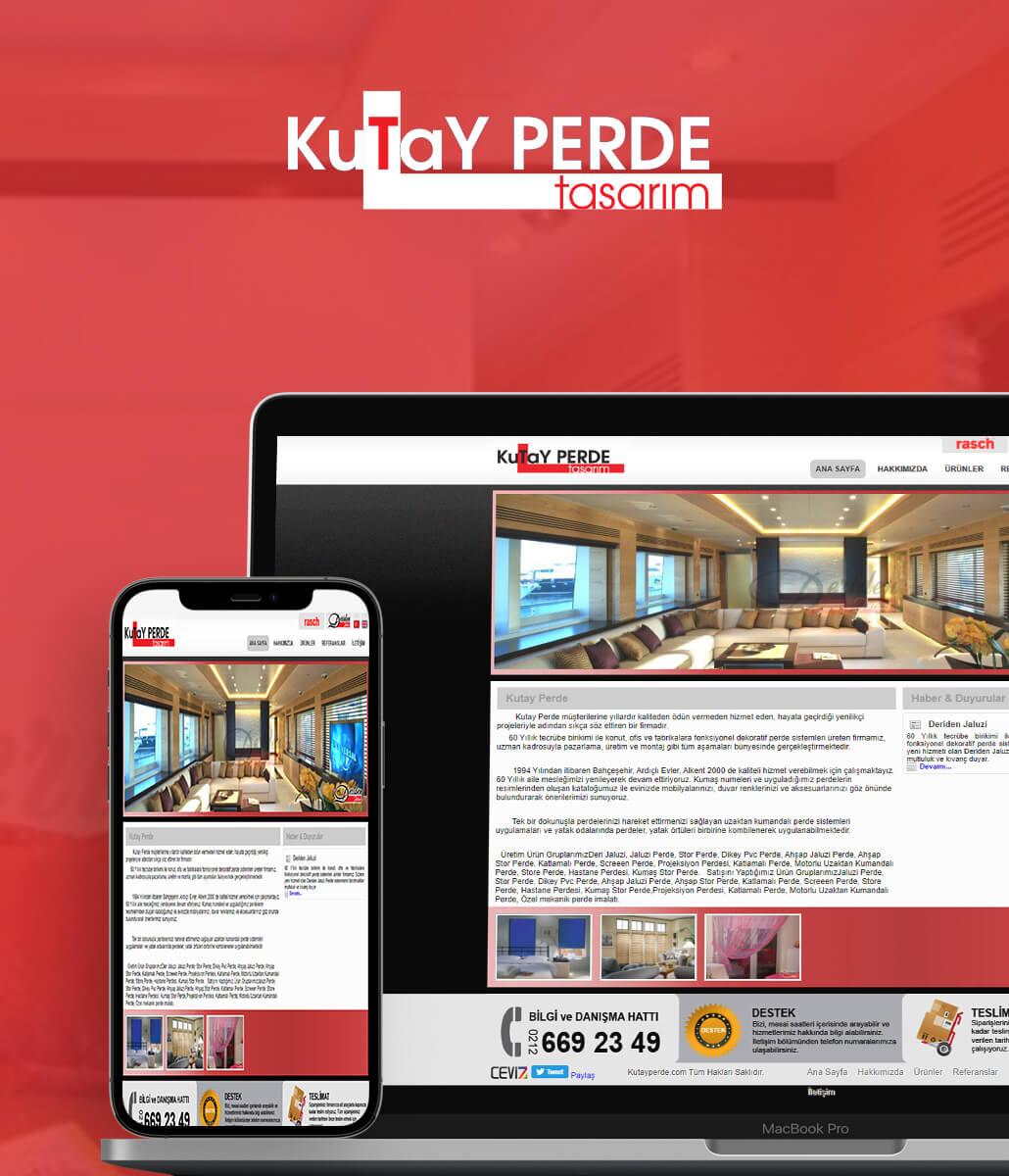 Kutay Perde Web Tasarım