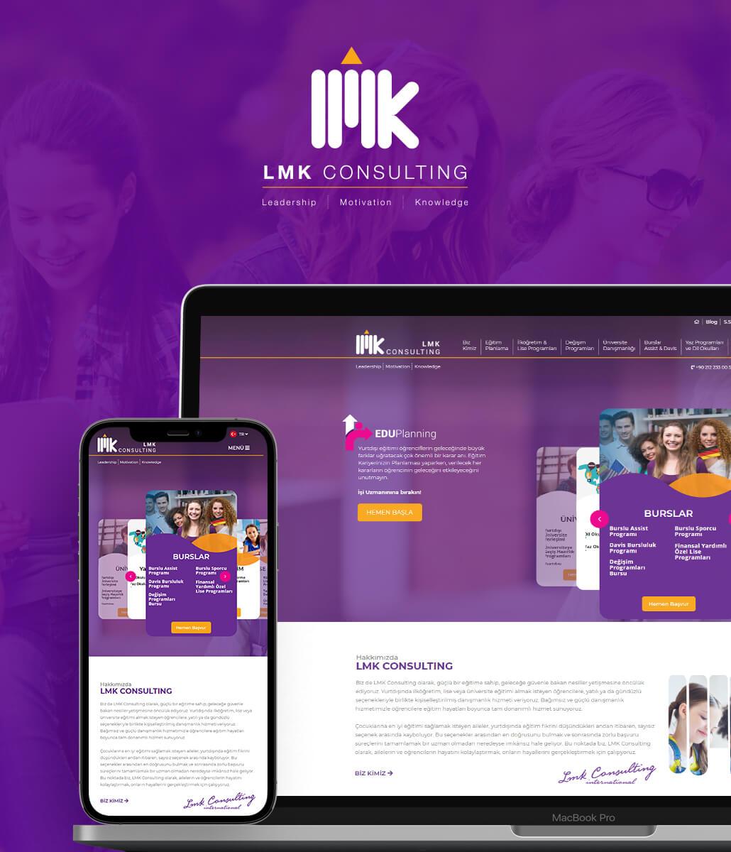 LMK CONSULTING Web Tasarım