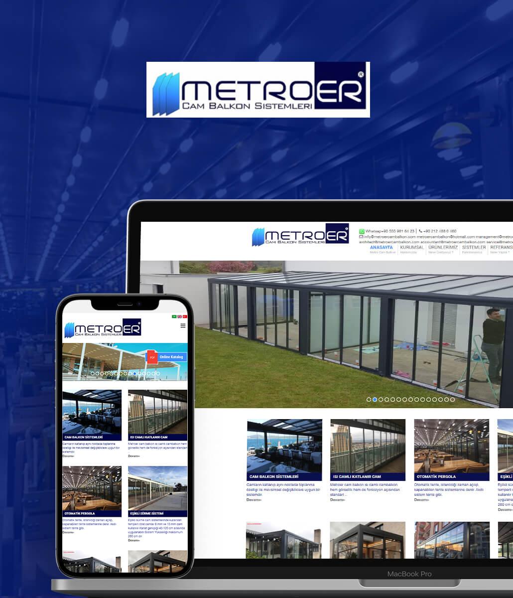 Metroer Cam Balkon Kurumsal Web Sitesi