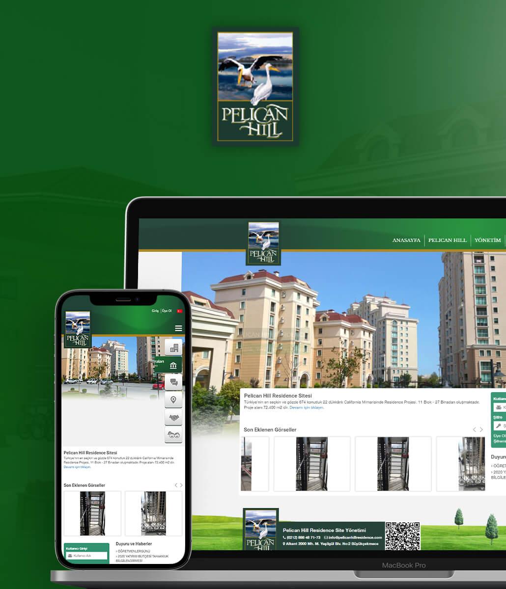 Pelican Hill Residence Site Yönetimi