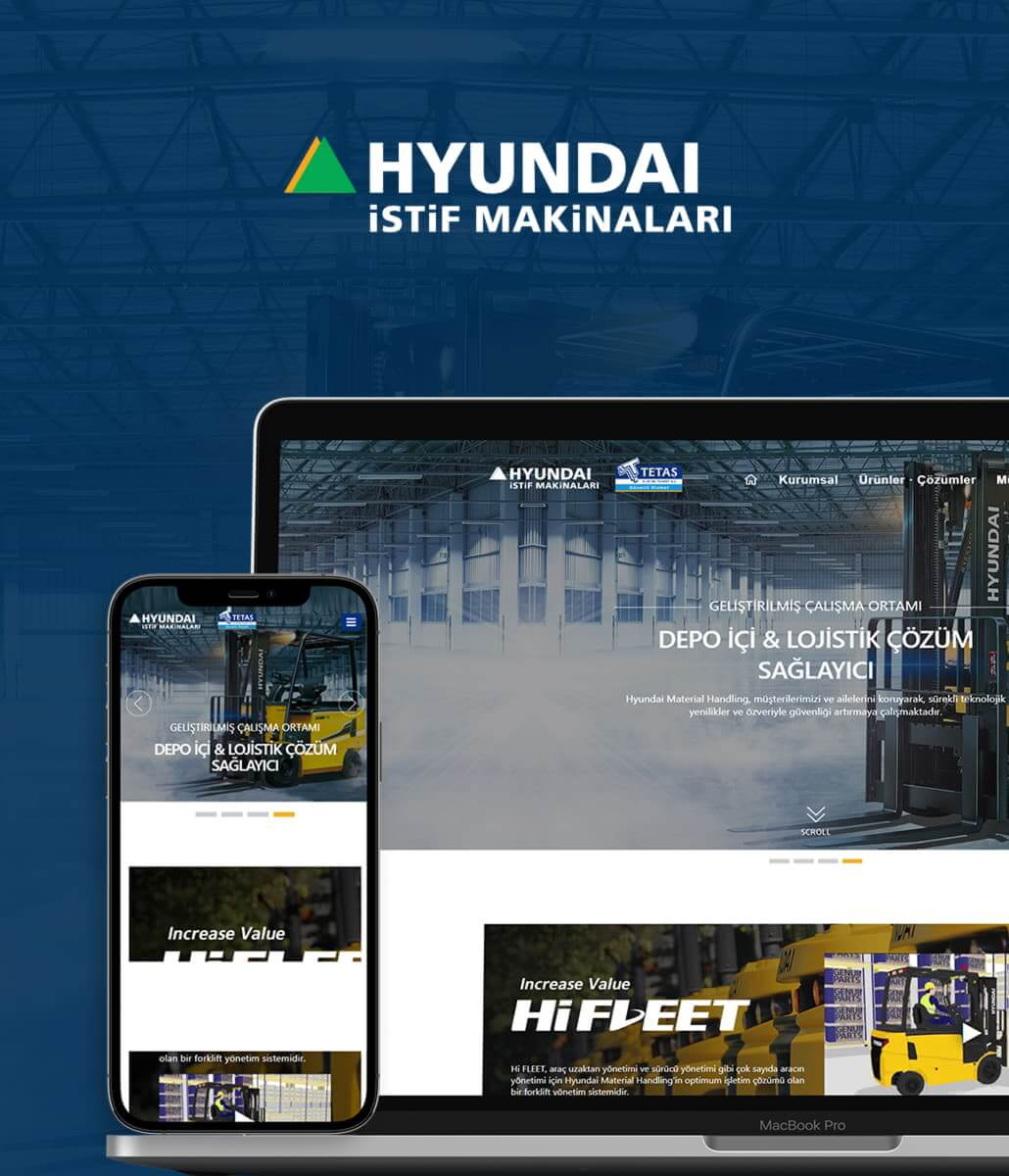 Hyundai & Tetaş Kurumsal Web Tasarım
