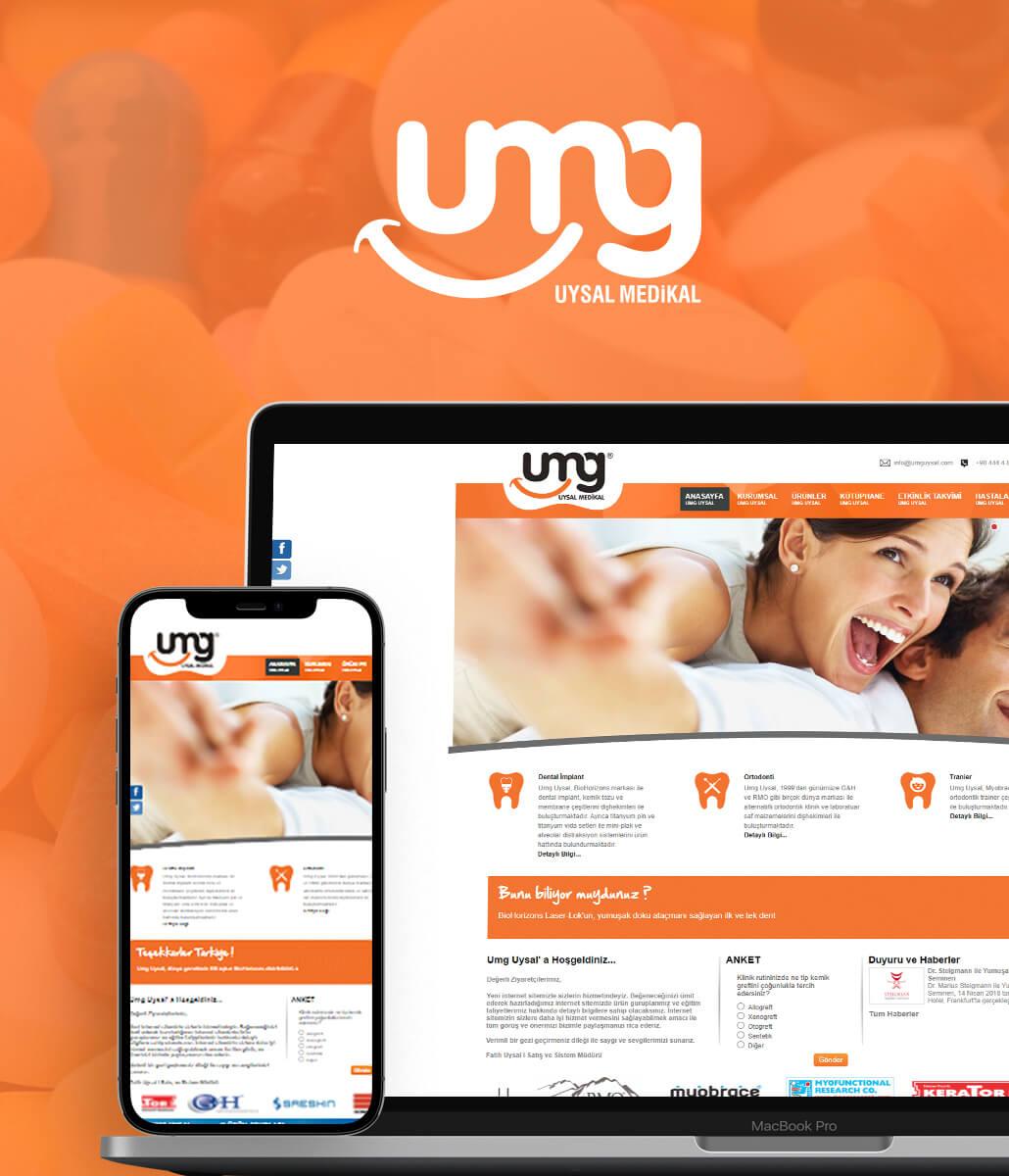 UMG UYSAL Kurumsal Web Tasarımı