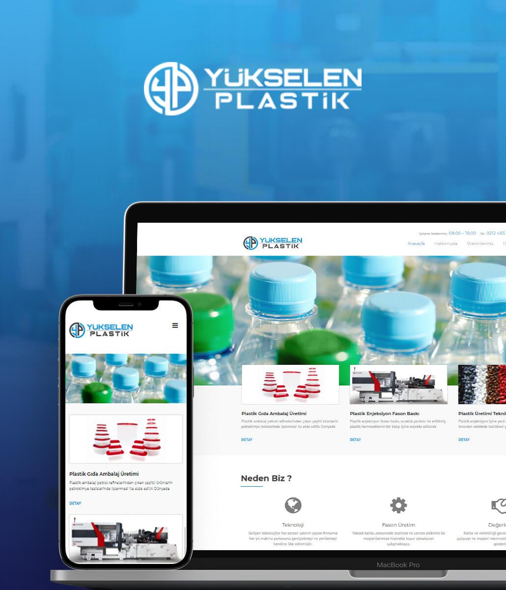 Yükselen Plastik Kurumsal Web Sitesi