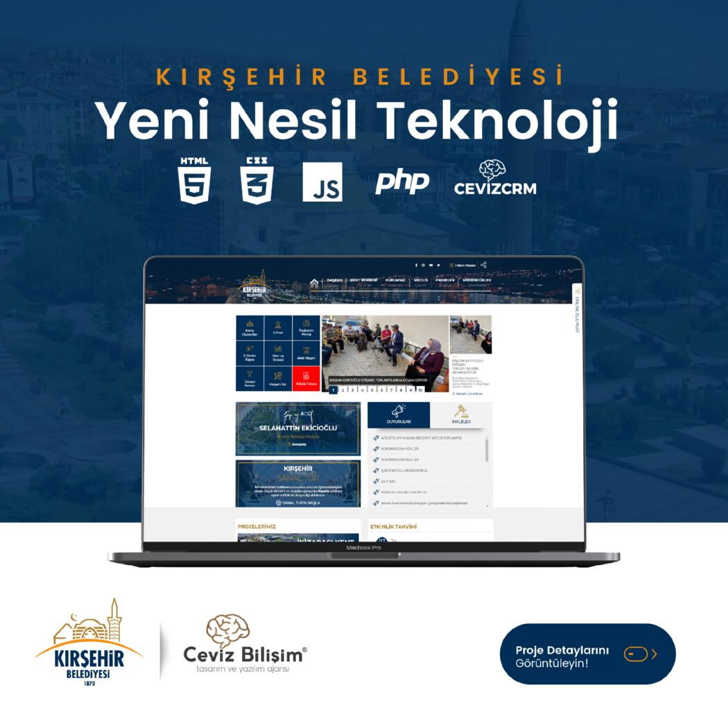 Kırşehir Belediyesi Web Tasarım
