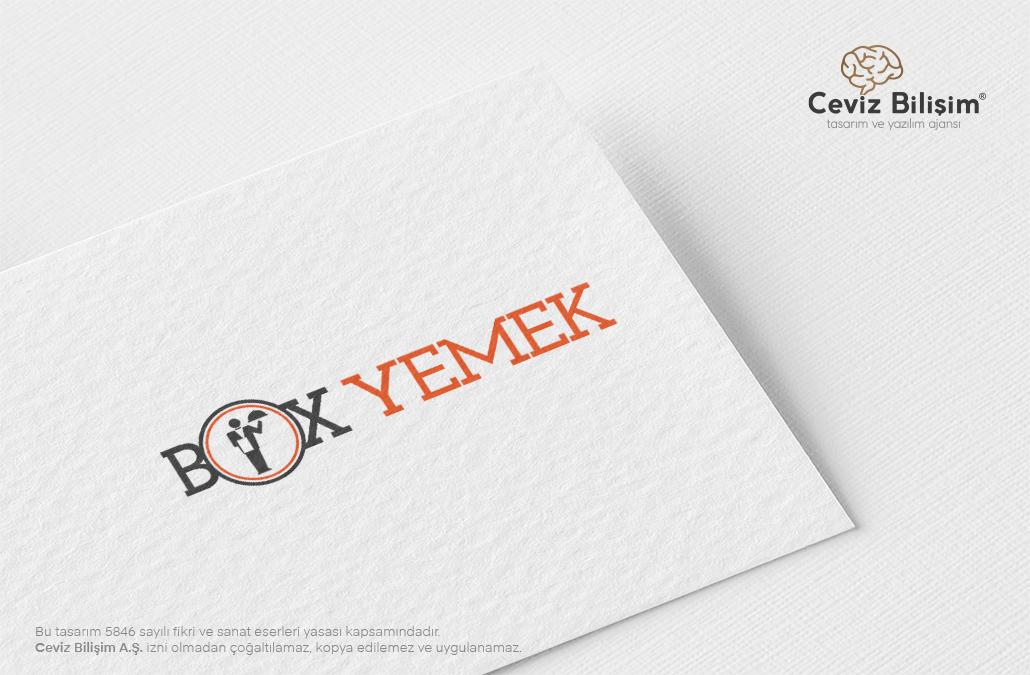 Box Yemek Logo Tasarımı
