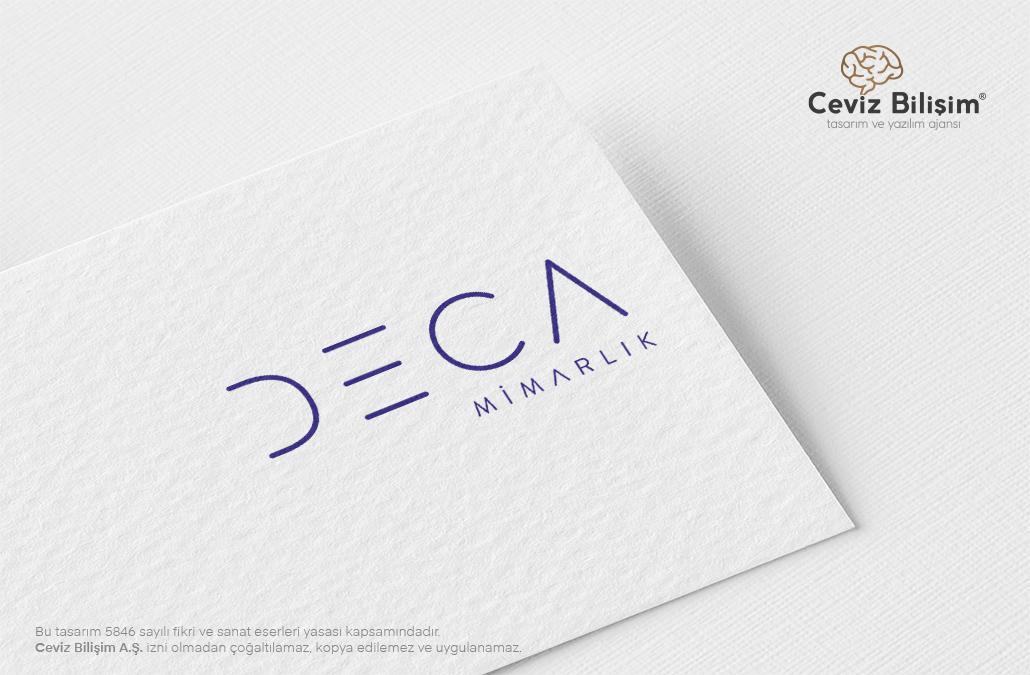 Deca Mimarlık Logo Tasarımı
