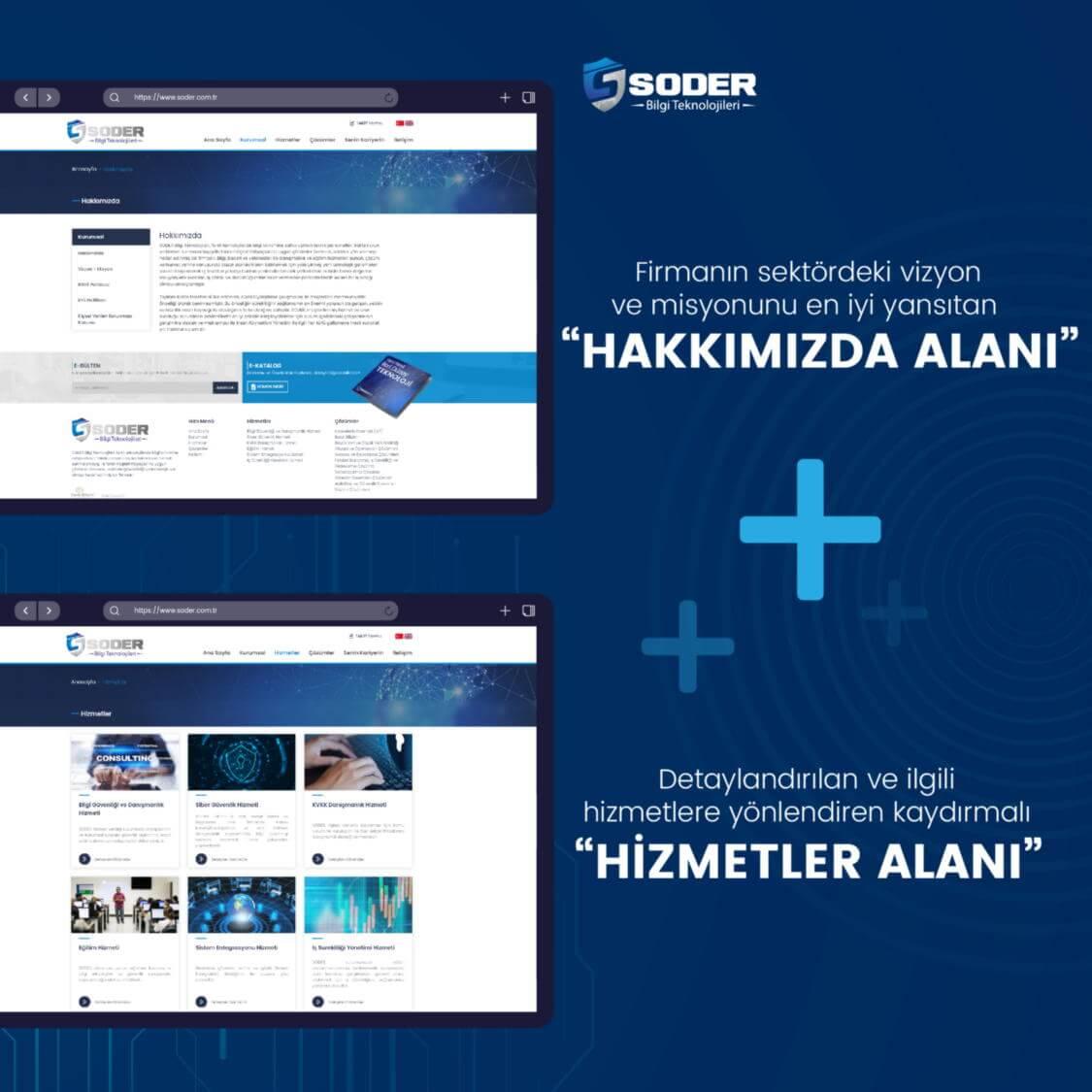 Soder Bilgi Teknolojileri Web Tasarım