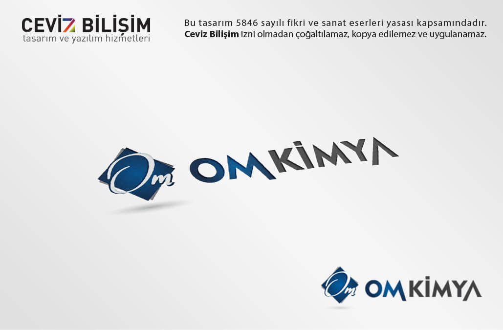 OM Kimya Logo Tasarımı